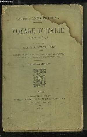 Voyage d'Italie (1826 - 1827): COMTESSE POTOCKA Anna