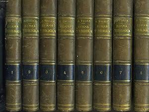 SUMMA THEOLOGICA Diligenter Emendata Nicolai, Sylvii, Billuart et C.-J. Drioux. Notis Ornata. EN 8 ...