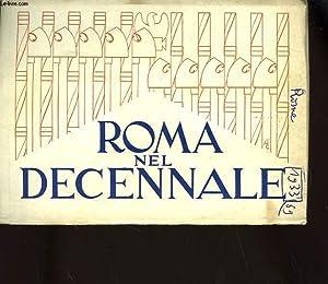 ROMA NEL DECENNALE: COLLECTIF