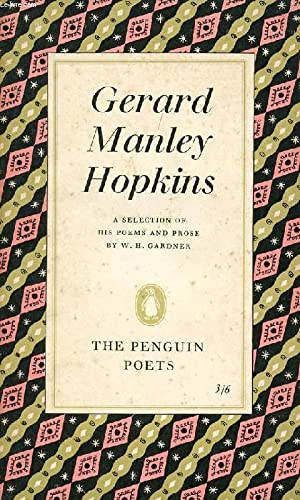 POEMS AND PROSE OF GERARD MANLEY HOPKINS: MANLEY HOPKINS GERARD