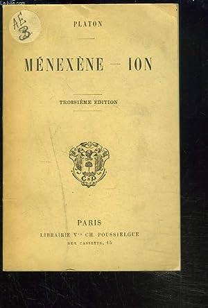 MENEXENE - ION.: PLATON