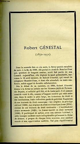 ROBERT GENESTAL - 1872 - 1931: MARTIN OLIVIER