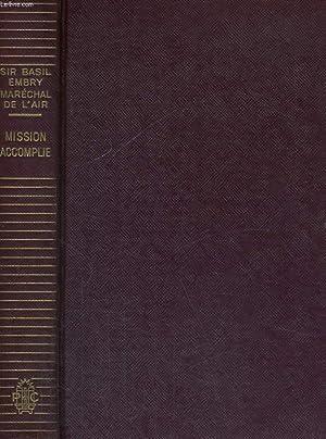 MISSION ACCOMPLIE: EMBRY Basil (Sir)