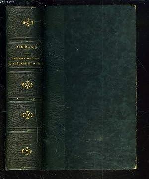 LETTRES COMPLETES D'ABELARD ET D'HELOISE.: ABELARD, HELOISE / M. GREARD