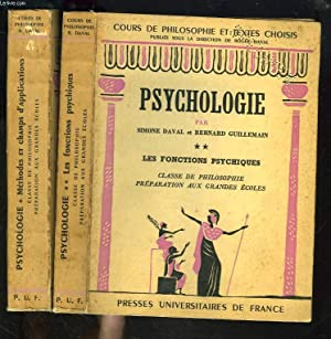 PSYCHOLOGIE. TOMES I ET II.: SIMONE DAVAL, BERNARD