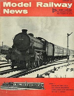 MODEL RAILWAY NEWS, VOL. 42, N° 493, JAN. 1966: COLLECTIF