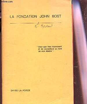 MA FONDATION JOHN BOST.: COLLECTIF