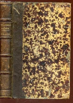 POESIES COMPLETES DE THEOPHILE GAUTIER / ALBERTUS - LA COMEDIE DE LA MORT - POESIES DIVERSES -...