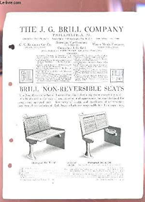 THE J.G. BRILL COMAGNY - BULLETIN N°247: COLLECTIF