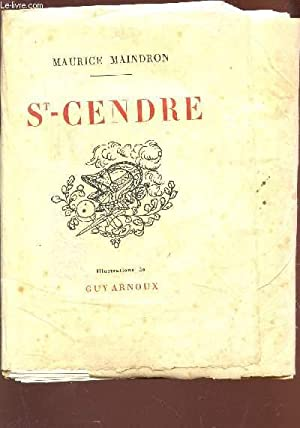 ST CENDRE.: MAINDRON MAURICE