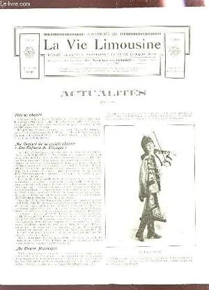 """LA VIE LIMOUSINE - 2e ANNEE - N°20 - 25 NOV 1926 / FETE DE CHARITE - AU CONSERT """"LES ..."""