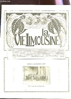 LA VIE LIMOUSINE - 4e ANNEE - N°52 - 25 juil 1929 / L'excursion de la Sté ...