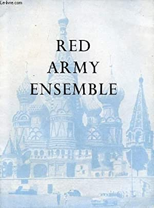 RED ARMY ENSEMBLE (PROGRAMME): COLLECTIF