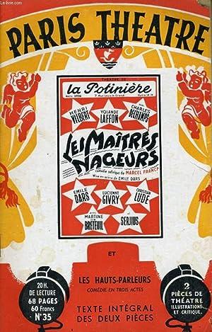 PARIS THEATRE N° 35 - LES MAITRES: COLLECTIF