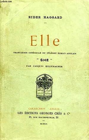 ELLE: HAGGARD RIDER