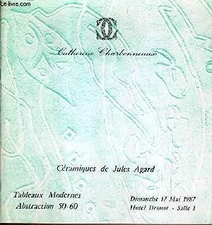 CATALOGUE DE VENTE AUX ENCHERES - DROUOT: CHARBONNEAUX CATHERINE
