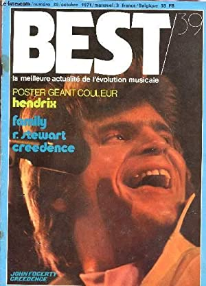 BEST - 4e année - N°39 / LEON RUSSEL / FAMILY - R. STEWART - CREEDENCE / ...