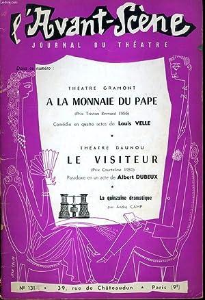 L'AVANT-SCENE JOURNAL DU THEATRE N° 131 -: COLLECTIF