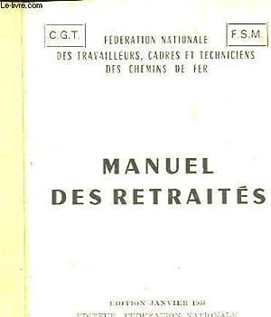 MANUEL DES RETRAITES: COLLECTIF