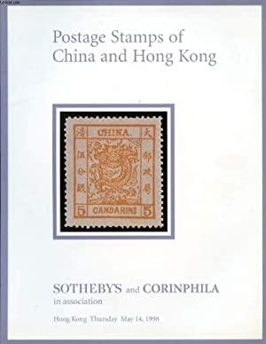 POSTAGE STAMPS OF CHINA AND HONG KONG, SOTHEBY'S AND CORINPHILA CATALOGUE: COLLECTIF