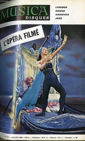 L'OPERA FILME: MUSICA. N°112
