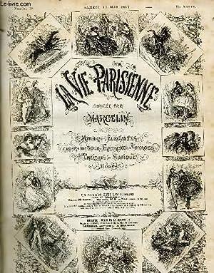 LA VIE PARISIENNE 14e année - N° 20 - LE CHEVAL BLANC, de W. - RESSEMELAGES DRAMATIQUES II, de N. -...