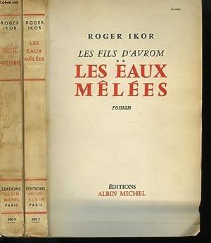 LES FILS D'AVROM EN 2 TOMES.: IKOR ROGER.