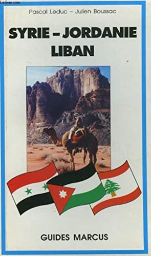 GUIDE MARCUS - SYRIE/JORDANIE/LIBAN: COLECTIF