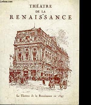 1 PROGRAMME - THEATRE DE LA RENAISSANCE - la celestine: COLLECTIF