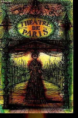 1 PROGRAMME - THEATRE DE PARIS - HADRIEN VII: COLLECTIF