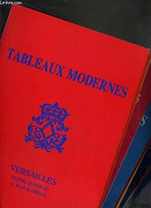 LOT DE 10 CATALOGUES - DROUOT - TABLEAUX MODERNES / BLACHE-24 FEV.-17 MARS-21 AVRIL 1985-16 ...