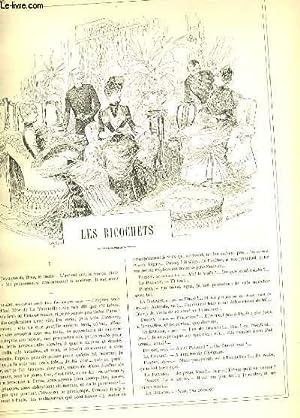 LA VIE PARISIENNE 23e année - N° 45 - LES RICOCHETS de DOM. G. - MESSIEURS MARS ET ...