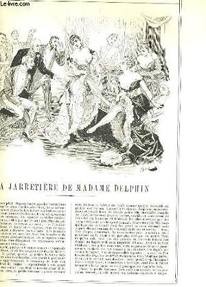 LA VIE PARISIENNE 27e année - N° 44 - LA JARRETIERE DE MADAME DELPHIN de MAB. - AVEC ...