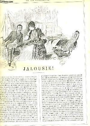 LA VIE PARISIENNE 28e année - N° 6 - JALOUSIE! de D. - UN PEU DE THEATRE de SAHIB. - EN ...