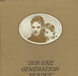 SUR UNE GENERATION PERDUE: SUFFRAN MICHEL