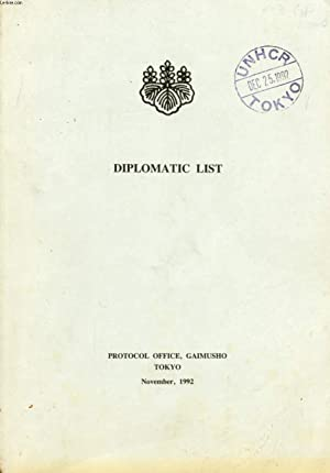 DIPLOMATIC LIST: COLLECTIF