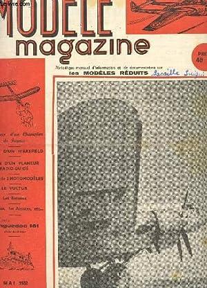 MODELE MAGAZINE - N°31 - MAI 1952 / Plan d'un Wakefield - plan d'un planeur ...