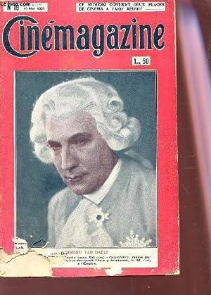 CINEMAGAZINE - N°19 - 9e année - 10 mai 1929 / EDMOND VAN DAELE / L'...