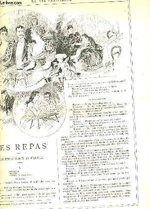 LA VIE PARISIENNE 31e année - N° 40 - LES SPORTS DE LA FEMME, 1re serie: TENNIS, CROCKET...