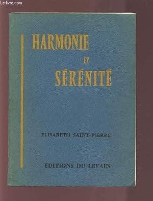 HARMONIE ET SERENITE.: SAINT PIERRE ELISABETH