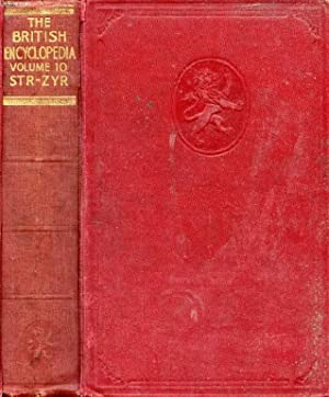 THE BRITISH ENCYCLOPEDIA ILLUSTRATED, VOL. 10, STR-ZYR: COLLECTIF