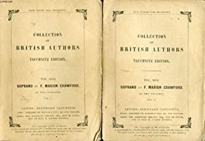 SOPRANO, 2 VOLUMES (COLLECTION OF BRITISH AND AMERICAN AUTHORS, VOL. 3854-3855): CRAWFORD F. MARION