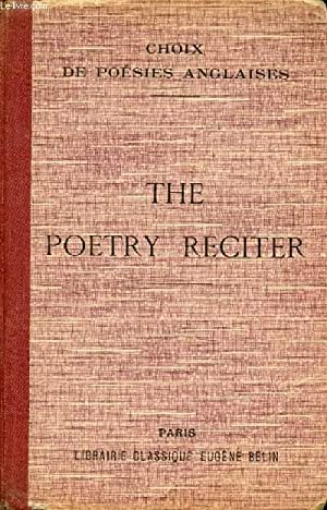 THE POETRY RECITER, CHOIX DE POESIES ANGLAISES: COLLECTIF