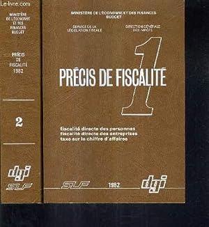 PRECIS DE FISCALITE - EN DEUX TOMES - TOMES 1 + 2.: MINISTERE DE L'ECONOMIE ET DES FINANCES BUDGETS