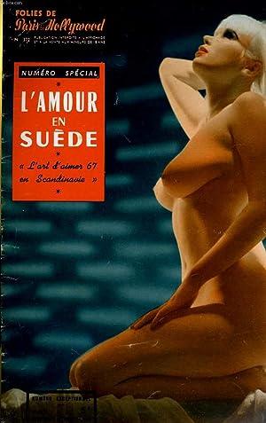 """FOLIES DE PARIS ET DE HOLLYWOOD N° 372 - NUMERO SPECIAL - L'AMOUR EN SUEDE - """"L'..."""
