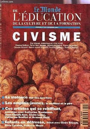 LE MONDE DE L'EDUCATION de la culture et de la formation / N°254 - DECEMBRE 1997&#x2F...