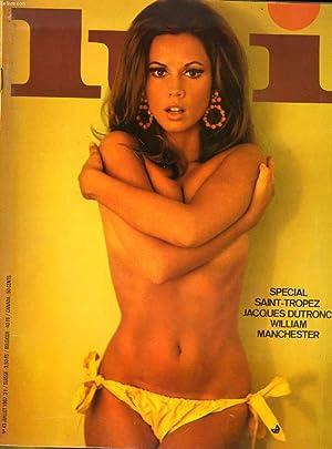 LUI, le magazine de l'homme moderne N° 43 - SPECIAL SAINT-TROPEZ - JACQUES DUTRONC - WILLIAM - ...