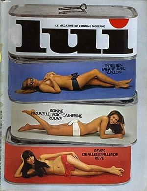 LUI, le magazine de l'homme moderne N° 70 - ENTRETIEN MINUTE AVEC PAPILLON - BONNE ...