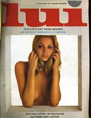 LUI, le magazine de l'homme moderne N° 79 - TETE-A-ETE AVEC PIERRE MESSMER - UNE PARTIE DE...