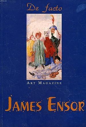 DE FACTO - ART MAGAZINE - JAMES ENSOR: COLLECTIF